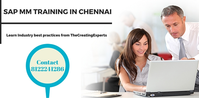 Best SAP MM Training in Chennai