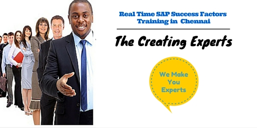 Best  SAP Success Factors Training in Chennai